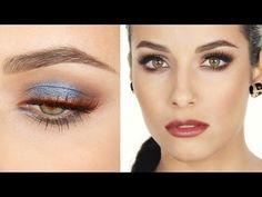 Trucco Argento-Blu e labbra MARSALA   MrDanielMakeup - YouTube