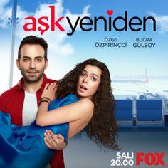 Turkish Dizi: Ask Yeniden With English Subtitles Drama Series, English, Romantic, Youtube, Movies, Two Weeks Notice, Novels, Films, Cinema