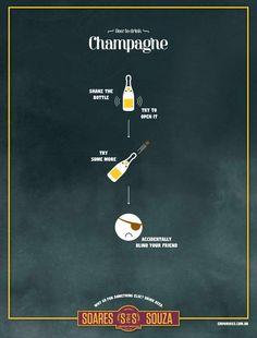 Emporio Soares & Souza: Champagne