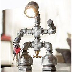 Bureaulampen - LED - Traditioneel / Klassiek/Rustiek/landelijk/Noviteit - Metaal - USD $ 99.99