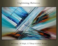 Large Painting Abstract Art Large Artwork Oil by largeartwork
