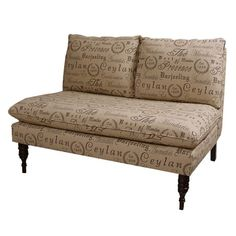 Teahouse Settee from the Small Spaces, Big Style event at Joss and Main! $451.95 #josscontest