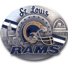 St. Louis Rams Belt Buckle