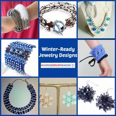 When the winter months creep in, it's time to switch out the light, summery colors of your jewelry collection for rich, textured pieces that stand out against your bundled-up wardrobe. DIY jewelry is a good way to start work on your fashion for the winter, and here in 24 Winter-Ready Jewelry Designs, we've got all the best patterns to get you started.