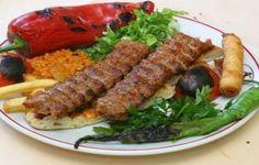 Turkish Adana Kebab - hot, spicy and really delicious - Love Antalya Armenian Recipes, Turkish Recipes, Greek Recipes, Ethnic Recipes, Turkish Kebab, Persian Kebab Recipe, Turkish Rice, Popular Greek Food, Barbecue