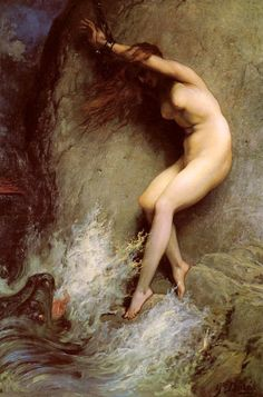 Andromeda (1869) by Gustave Doré