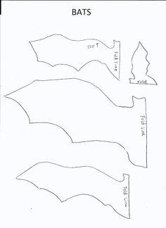 Bat template | Art class ideas
