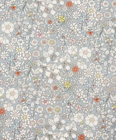 Liberty Art Fabrics June's Meadow F Tana Lawn Cotton