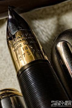 Macro photography - Sheaffer fountain pen.