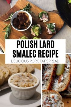 Lard Recipe, Semolina Recipe, Cheese Appetizers, Appetizer Recipes, Polish Recipes, Polish Food, Ukrainian Recipes, German Recipes, Quick Dinner Recipes