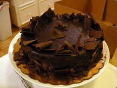 Sinful Chocolate Cake by Philosopher Queen, via Flickr