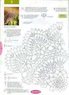 Hooked on crochet: Toalha Jasmin