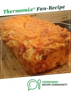 Recipe Cheese and bacon bread by learn to make this recipe easily in your kitchen machine and discover other Thermomix recipes in Baking - savoury. Dough Recipe, Kfc Chicken Recipe, Chicken Recipes, Bread Baking, Yeast Bread, Thermomix Bread, Cheese Bread, Bread Rolls, English