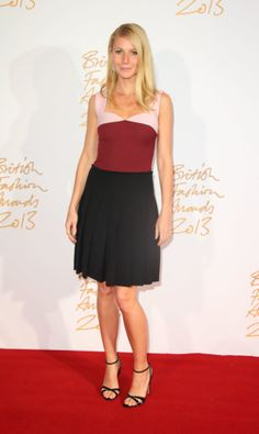 Gwyneth Paltrow at the 2013 British Fashion Awards