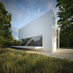 3 Poziomy domu by S3NS Architektura - Igor Kazmierczak