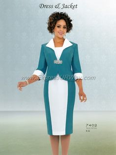 Church Suits by Terramina - Spring 2014 - www.ExpressURWay.com - Church Suits, Womens Church Suits, Ladies Church Suits, Terramina, Spring 2014, ExpressURWay