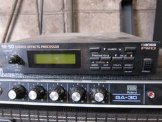 BROSS PRO SE-50 STEREO EFFECTS PROCESSOR
