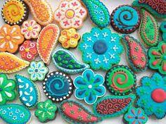 Resultado de imagem para christmas cookies decorating ideas