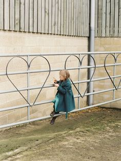 Welded hearts on gates -- could weld any shape or saying?