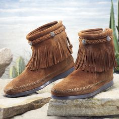 Women's Hampton Kilty Moccasin | Footwear, Fringes and Ankle boots