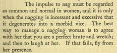 ~ Modern Woman and How to Manage Her, by Walter M. Gallichan, 1910via Internet Archive