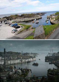 Game of Thrones Location: Ballintoy harbour, County Antrim, Northern Ireland. #GameofThrones #NorthernIreland