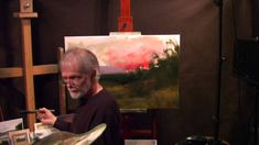 Painting with dennis sheehan