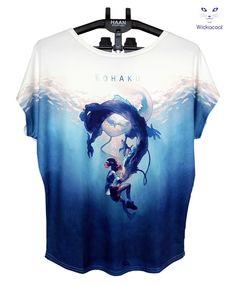 Ghibli Hayao Miyazaki Spirited Away Haku Women'S Tshirts Sah 9413 Cheap T Shirts Online Biker T Shirts From Wickacool, $20.1| Dhgate.Com
