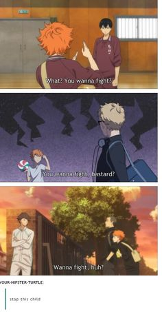 Hinata Shouyou my little baby who thinks he's a giant...