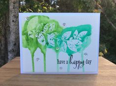 Sheena Joy - Clustered Leaves (Create A Smile) w/ Gansai Tambi Watercolors
