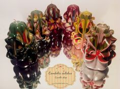 Candles by Candelis Calidus 50$ for six ones!