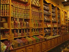 old school candy store I am going to own one day...