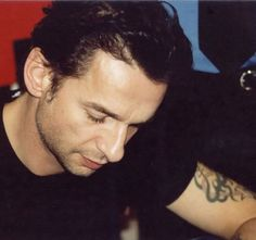 Dave Gahan of Depeche Mode during Paper Monsters Tour