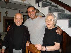 Em casa do primo em Moimenta da Beira Bispo de Bragança D.Rafael Mergulhão. Verão de 2008 #DanielMergulhao #familiamergulhao #mergulhao #bispodebraganca