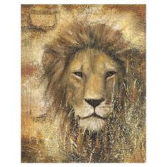 I pinned this Safari Lion Wall Art from the Safari Chic event at Joss and Main!