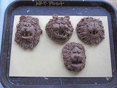 Image result for Lion Art Lesson for kids