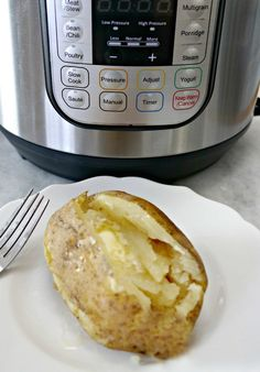 Cooking baked potato