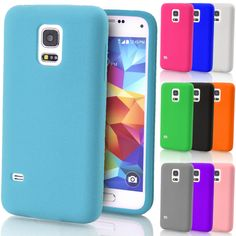 Soft Silicone Case Gel Rubber Cover Skin for Samsung Galaxy S3 S4 S5 Mini S6 S7 #FoneSmith