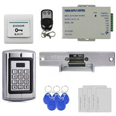 280kg Magnetic Lock For Home Improvement Access Control Diysecur Full Complete Rfid Card Keypad Door Access Control System Kit