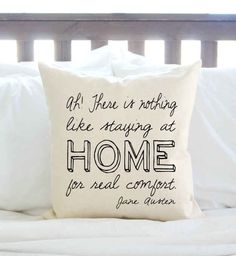 jane austen quote pillow for the love of books pinterest deko bilder und schatz. Black Bedroom Furniture Sets. Home Design Ideas