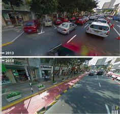 Antes / Después: 30 fotos que demuestran que es posible diseñar pensando en los peatones,Avenida José Larco, Lima, Perú. Image Cortesía de Urb-I