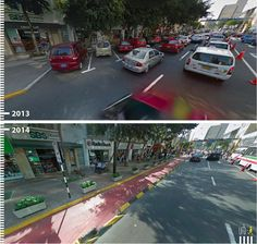 Avenida José Larco, Lima, Peru. Cortesia de Urb-I