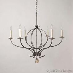 New Orleans custom, handmade chandeliers, sconces, lanterns, and lighting. All of our pieces can be customized to order in any of our signature finishes. Cottage Lighting, Living Room Lighting, Home Lighting, Chandelier Lighting, Handmade Chandelier, Transitional Chandeliers, Lighting Companies, I Love Lamp, Julie