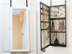Over-the-Door Space Saving Jewelry Armoire—OpenSky. I need.