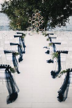 Post-Rock Space wedding /wedding arch / geometry / flowers
