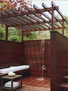Banheiro ao ar livre.