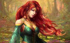 Your phrase fantasy art redhead all fantasy