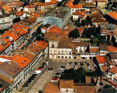 Vista aérea do Largo João Franco / Guimarães