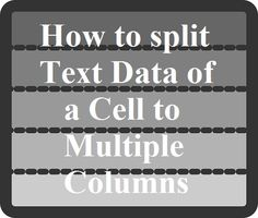 10 fit gap analysis template excel spreadsheet report project how to split text data of a cell to column in excel fandeluxe Choice Image