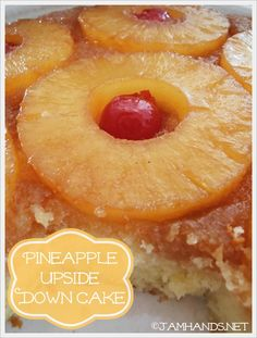 The Best Pineapple Upside Down Cake on MyRecipeMagic.com